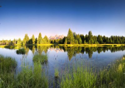 Schwabacher Landing At Dawn